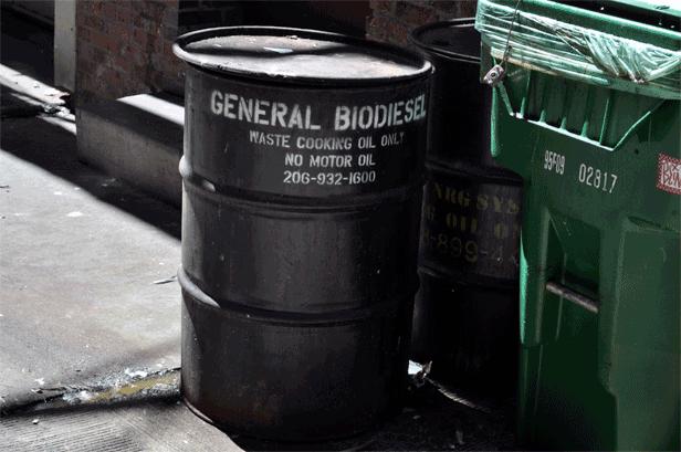 waste vegatable oil