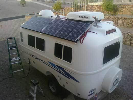 solar panel RV