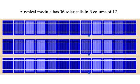 3 column cells