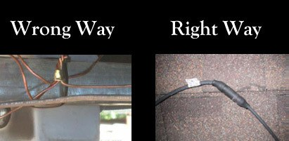 solar wire connections