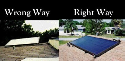 efficient roof placement